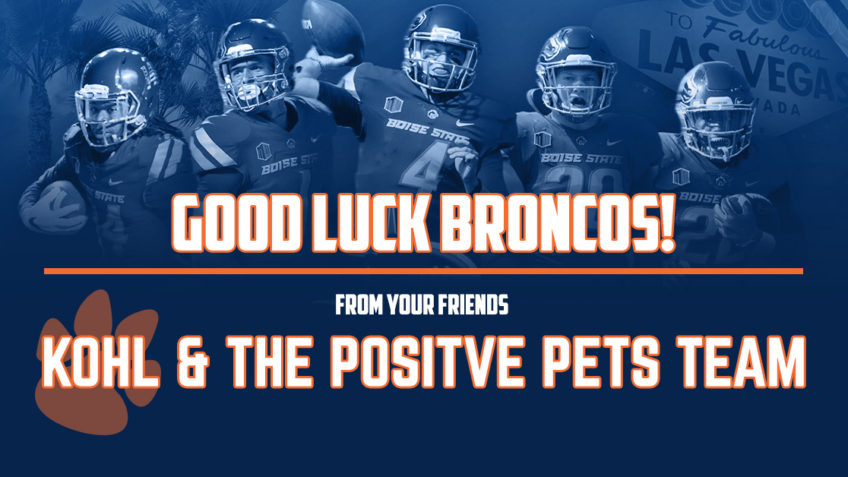 Good Luck Boise State Broncos in the Las Vegas Bowl.
