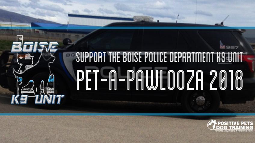 Boise Police K9 pet-a-pawlooza.